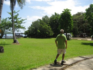 Walking in the Camotes Island