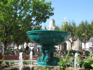 Fountain and Church