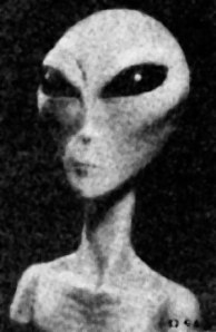 Alien Grey Photo Using New Infrared  Camera           CLASSIFIED