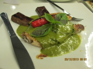Local Green Curry Fish
